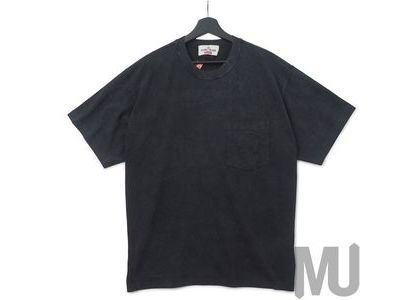 Supreme Stone Island Pocket Tee Blackの写真