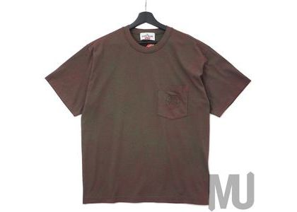 Supreme Stone Island Pocket Tee Redの写真