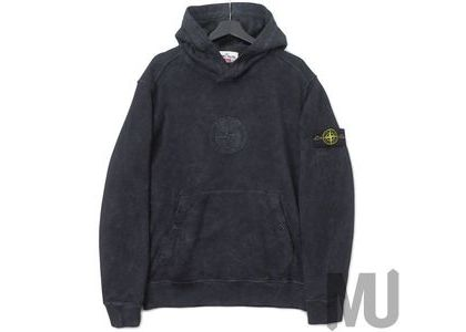 Supreme Stone Island Hooded Sweatshirt (SS19) Blackの写真