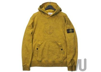 Supreme Stone Island Hooded Sweatshirt (SS19) Oliveの写真