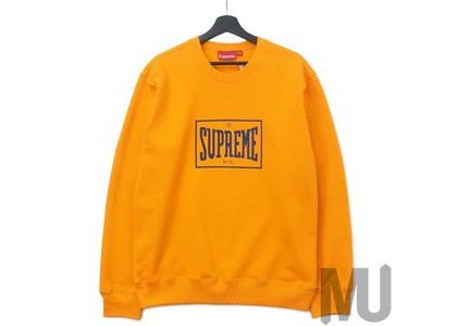 Supreme Warm Up Crewneck Orangeの写真