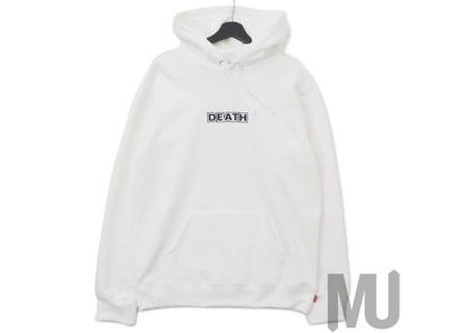 Supreme Gilbert & George DEATH Hooded Sweatshirt Whiteの写真