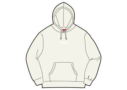 Supreme Tag Logo Hooded Sweatshirt Naturalの写真