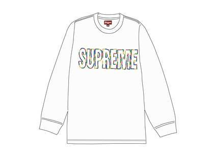 Supreme International L-S Tee Whiteの写真