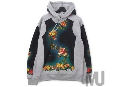 Supreme Jean Paul Gaultier Floral Print Hooded Sweatshirt Heather Greyの写真