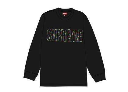 Supreme International L-S Tee Blackの写真