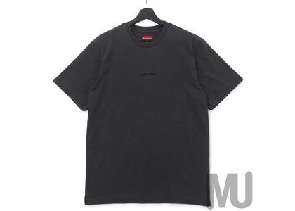 Supreme Overdyed Tee (SS19) Blackの写真
