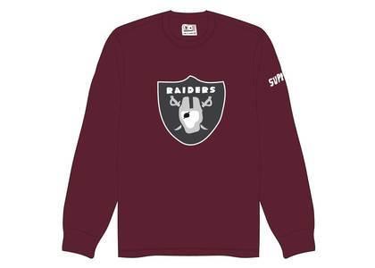 Supreme NFL x Raiders x '47 Thermal Maroonの写真