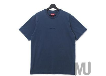 Supreme Overdyed Tee (SS19) Navyの写真