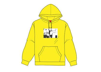 Supreme Classic Ad Hooded Sweatshirt Yellowの写真