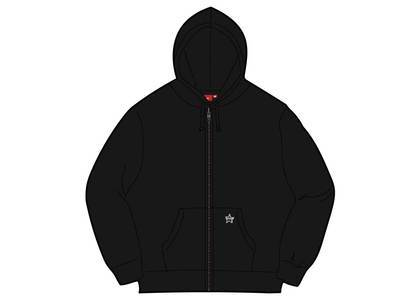 Supreme Star Zip Up Sweatshirt Blackの写真
