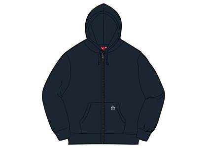 Supreme Star Zip Up Sweatshirt Navyの写真