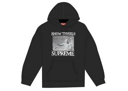 Supreme Know Thyself Hooded Sweatshirt Blackの写真