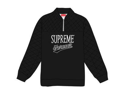 Supreme Forever Half Zip Sweatshirt Blackの写真