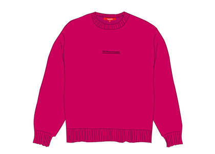 Supreme Fuck Everybody Sweater Magentaの写真