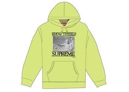 Supreme Know Thyself Hooded Sweatshirt Bright Yellowの写真