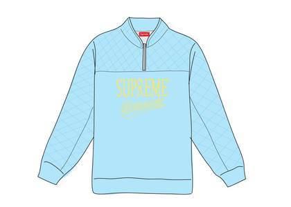 Supreme Forever Half Zip Sweatshirt Columbia Blueの写真
