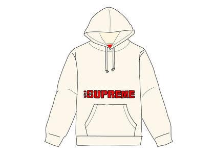 Supreme Blockbuster Hooded Sweatshirt Naturalの写真
