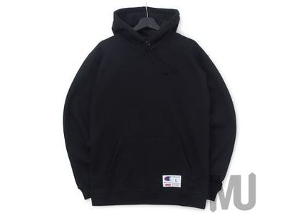 Supreme Champion Outline Hooded Sweatshirt Blackの写真