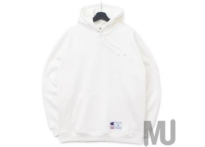 Supreme Champion Outline Hooded Sweatshirt Whiteの写真
