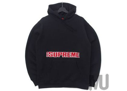 Supreme Blockbuster Hooded Sweatshirt Blackの写真