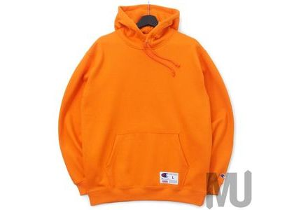 Supreme Champion Outline Hooded Sweatshirt Orangeの写真
