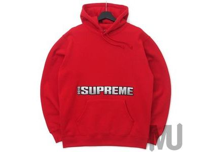 Supreme Blockbuster Hooded Sweatshirt Redの写真