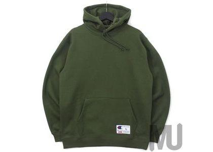 Supreme Champion Outline Hooded Sweatshirt Dark Oliveの写真
