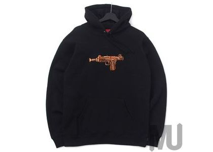 Supreme Toy Uzi Hooded Sweatshirt Blackの写真