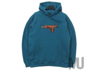 Supreme Toy Uzi Hooded Sweatshirt Dark Tealの写真
