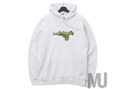 Supreme Toy Uzi Hooded Sweatshirt Ash Greyの写真