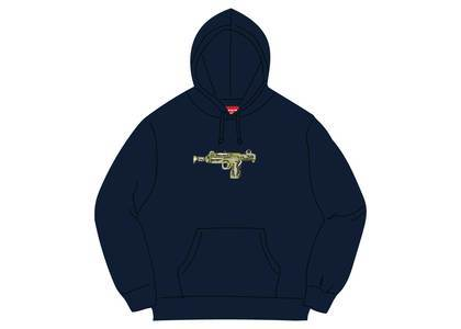 Supreme Toy Uzi Hooded Sweatshirt Navyの写真