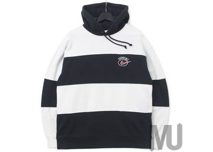 Supreme Nike Stripe Hooded Sweatshirt Blackの写真
