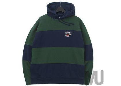 Supreme Nike Stripe Hooded Sweatshirt Navyの写真