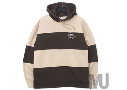Supreme Nike Stripe Hooded Sweatshirt Tanの写真