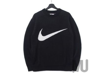 Supreme Nike Swoosh Sweater Blackの写真