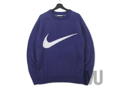 Supreme Nike Swoosh Sweater Purpleの写真