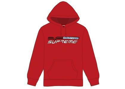 Supreme Motherfucker Hooded Sweatshirt Redの写真