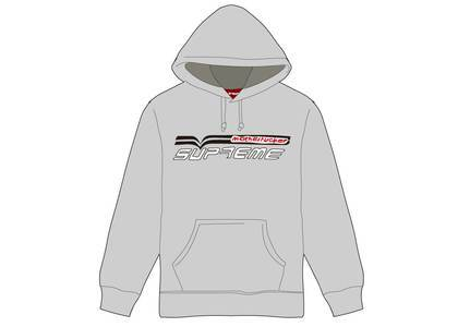 Supreme Motherfucker Hooded Sweatshirt Heather Greyの写真