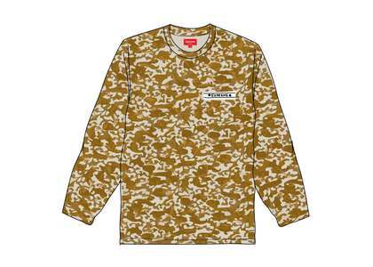 Supreme Damask L-S Top Goldの写真