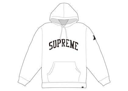 Supreme NFL x Raiders x '47 Hooded Sweatshirt Whiteの写真