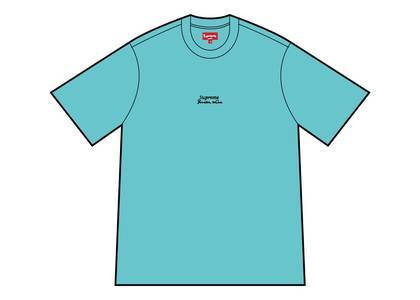 Supreme Qualite Tee Dusty Aquaの写真