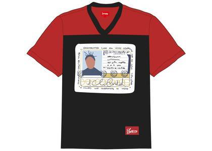 Supreme Ol' Dirty Bastard Football Top Redの写真