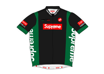 Supreme Castelli Cycling Jersey Blackの写真