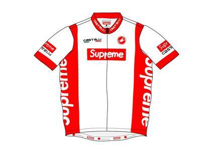 Supreme Castelli Cycling Jersey Whiteの写真