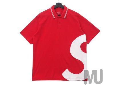 Supreme S Logo Polo Redの写真