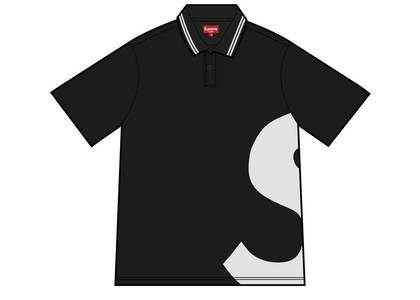 Supreme S Logo Polo Blackの写真