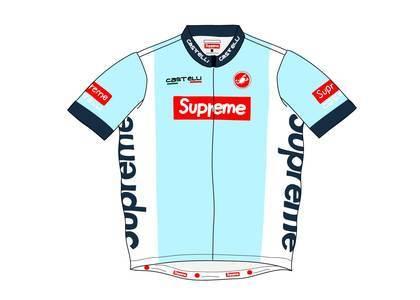 Supreme Castelli Cycling Jersey Light Blueの写真