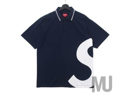 Supreme S Logo Polo Navyの写真