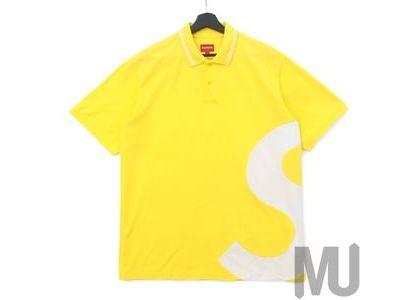 Supreme S Logo Polo Yellowの写真